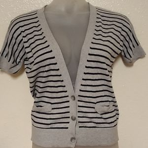 American Eagle Outfitters Stripped Cardigan XL